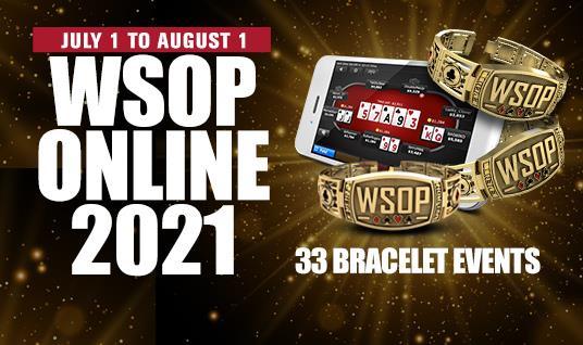 WSOP Online 2021 Domestic Bracelet Series Full Schedule Released